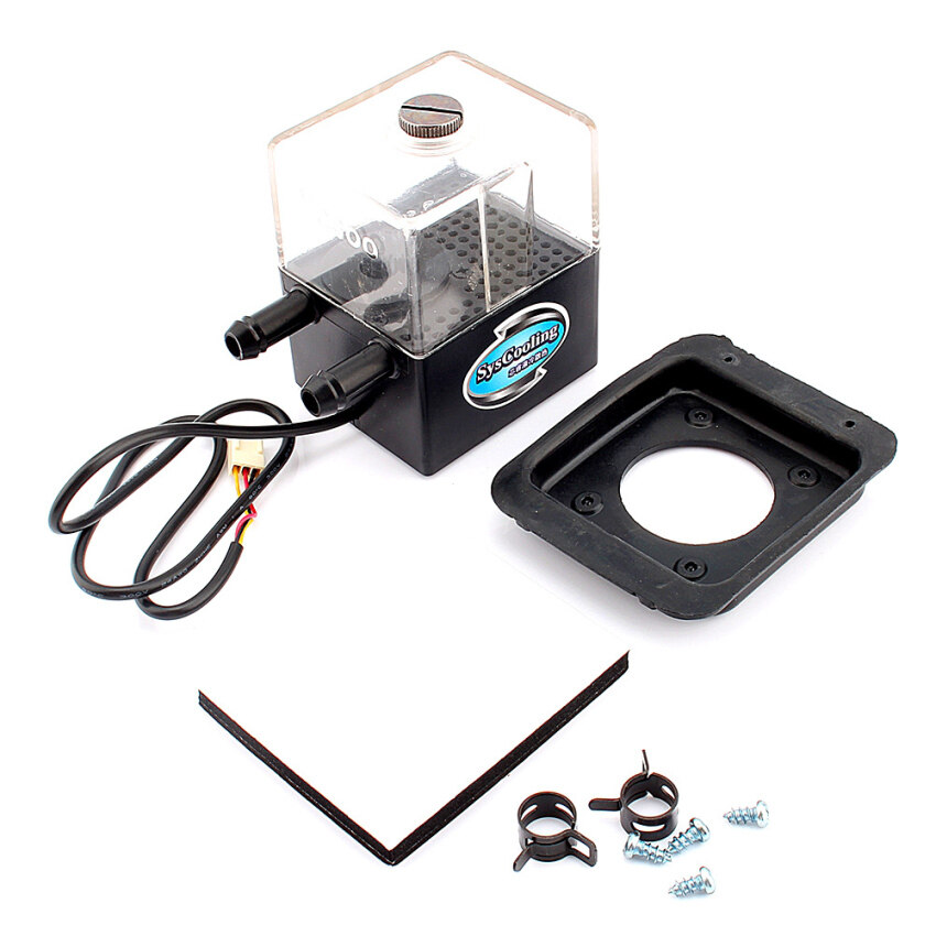 High quality of CPU Cooling System Water Pump with Tank (Black) - Intl