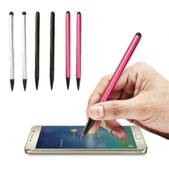 High Tech Capacitive Touch Screen Pen Stylus For iPhone SamsungPhone Phones Red/Black. - intl