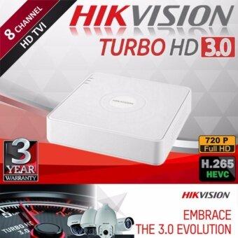 เครื่องบันทึกกล้องวงจรปิด Hikvision Turbo HD 3.0 ขนาด 8 ช่อง 720p