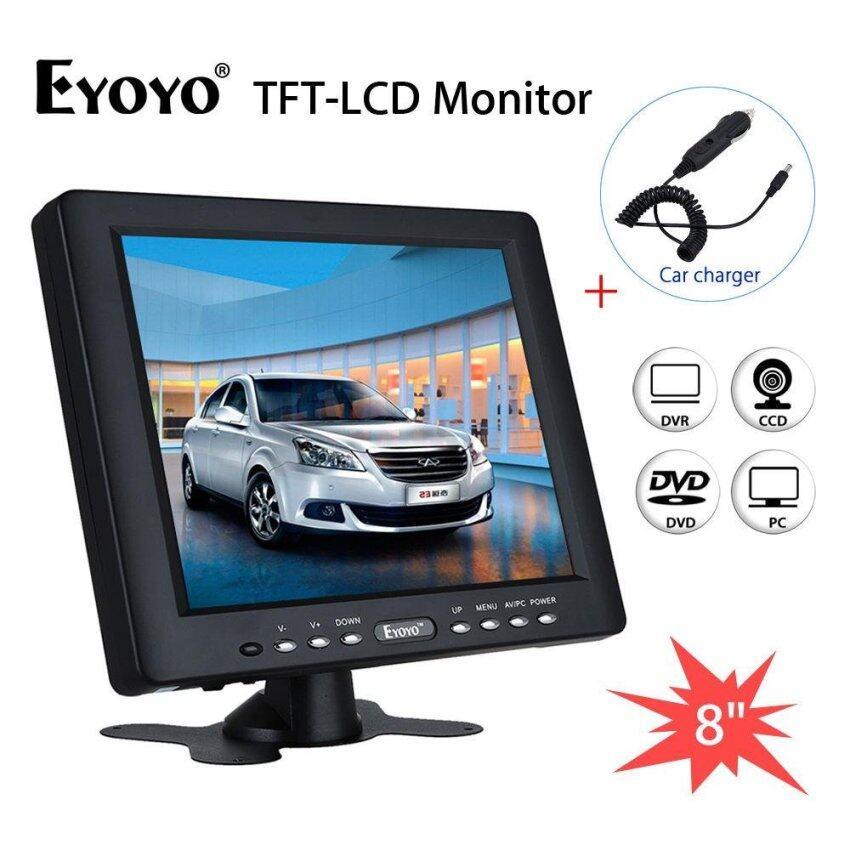HM8009 8 inch TFT LCD Monitor Screen 4:3 1024*768 HDMI VGA Video Audio for CCTV - intl