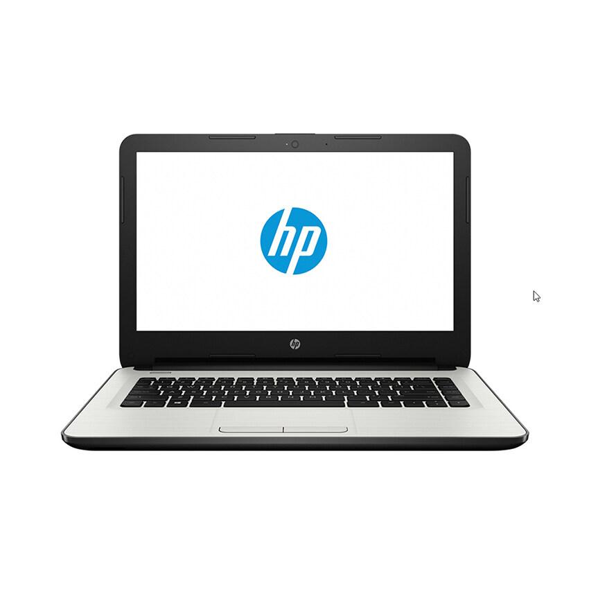 HP แล็ปท็อป รุ่น 14-am109TXi5-7200U14'4G1TBR5(2)Dos (สีขาวเงิน)