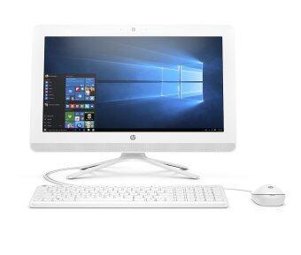 HP All in One รุ่น 20-c021l Non Touch (W2U12AA#AKL) 19.5\/Pentium J3710/4GB/1TB/Dos (White)