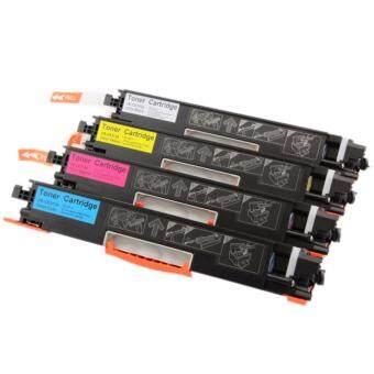 ตลับหมึกพิมพ์เลเซอร์ HP CF350A / CF351A / CF352A / CF353A ( 1 ชุด 4 สี)สำหรับปริ้นเตอร์ HP Color LaserJet Pro MFP M153 /M176n/M177fw (ครบชุด4ตลับ สีดำสีน้ำเงินสีแดงสีเหลือง)