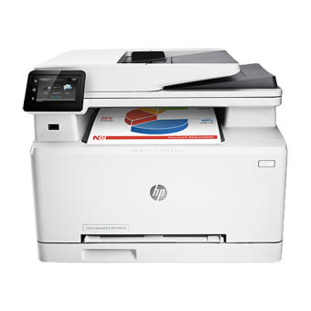 HP LaserJet Color Pro MFP M277n Print Copy Scan fax