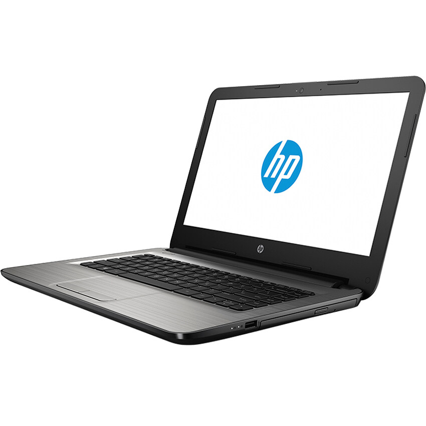 HP Notebook 14-am001TU(W0J30PA#AKL) PenN3710 4GB 500GB Dos 14' (Silver)