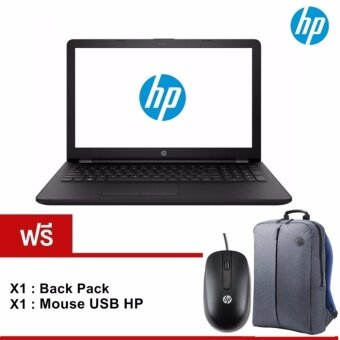 HP Notebook 15-bw079AX(2GV14PA#AKL) AMD A10-9620P 2.5GHz/4GB/1TB/AMD Radeon 520 2GB/15.6/Dos (Black) รับประกัน 2 ปี On site