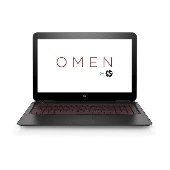 HP แล็ปท็อป OMEN รุ่น 15-ax202TX/i7-7700HQ/4G/1TB+128G/GTX1050(4)/W10 (สีดำ)