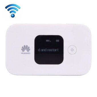 Huawei E5577Cs-321 Wireless Mobile Hotspot 4G WiFi Router With LCD Screen, Sign Random Delivery(White) - intl
