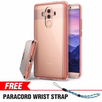 Huawei Mate 10 Pro Case Ringke [FUSION] Crystal Clear PC Back TPU Bumper [Drop Protection / Shock Absorption Technology] Scratch Resistant Protective Cover for Huawei Mate 10 Pro - intl