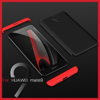 Huawei Mate 9 case , Mooncase Frosted Armor Hard PC Back Cover 360Full Body Shockproof Protective with 3 Detachable Parts Phone Case(As Shown) - intl - 5