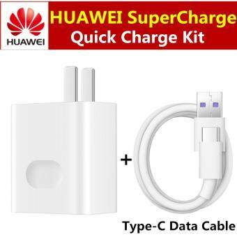 Huawei Original HUAWEI SuperCharge Fast Adapter AU Charger 5A Type-C Cable