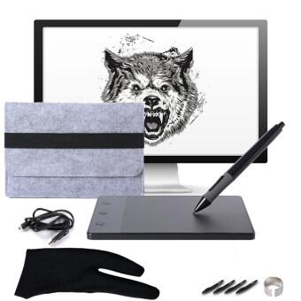 Huion mouseปากกา วาดภาพ H420 4″x2.23″ USB Art Design Graphics Drawing Tablet Board WIn Mac