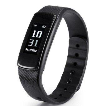 Harga I6 IWOWN HR Wristband Smart Watch Heart Rate Monitor Bluetooth 4.0 Waterproof Fitness Tracker Bracelet For IOS And Android - intl