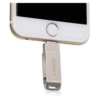 iDrive iDiskk Pro 128GB USB 2.0 แฟลชไดร์ฟสำรองข้อมูล iPhone,IPadแบบหมุน