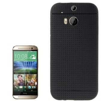 Harga SUNSKY Pure Color TPU Protective Case for HTC One M8 (Black)