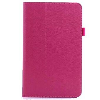 Harga PU Leather Cover Case for Acer Iconia One 8 B1-810 Magenta