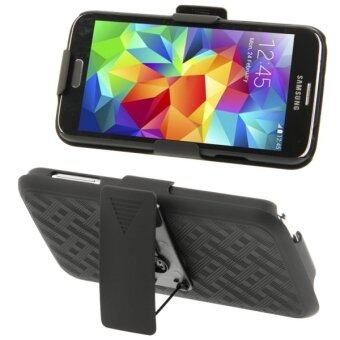 Harga SUNSKY Plastic Case with Belt Clip and Holder for Samsung Galaxy S5 / G900 (Multicolor)