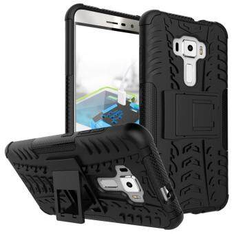 Harga Zoeirc Heavy Duty Shockproof Dual Layer Hybrid Armor Protective Cover with Kickstand Case for Asus Zenfone 2 Laser ZE550KL - intl