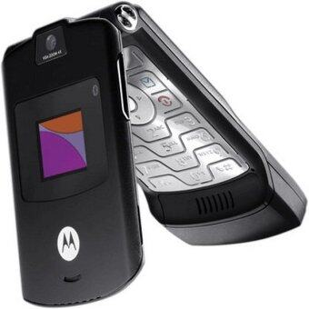 Harga (FACTORY REFURBISHED) Motorola V3 RAZR - Black