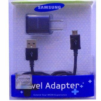 Harga Samsung ชาร์ต+สาย Samsung Galaxy J1/J2/J5/J7 Micro USB Data Cable + Home Wall Charger (สีดำ)