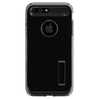 Harga SPIGEN เคส Apple iPhone7 Plus Case Slim Armor : Jet Black