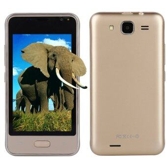 Harga Allwin V7 Dual Card Dual Standby MTK6572 Dual Core Smart Phones For Android 4.4.2 Gold - intl