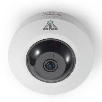 Harga Cotier Fish Eye IP Network Security Dome Camera 5MP P2P 360 Degree IP Camera - intl