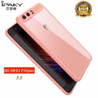 Harga IPAKY tesia Original iPaky For Huawei P10 /P10 plus Case Soft Silicone Frame Hard Transparent Back Cover For Huawei P10/P10 Plus Phone Cases