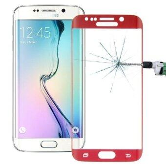 Harga SUNSKY Tempered Glass Screen Protector for Samsung Galaxy S6 Edge+ / G928 (Red)