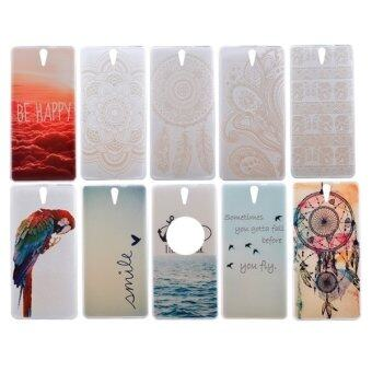 Harga SUNSKY 0.3mm Ultra-thin SMILE Pattern TPU Protective Case for Sony Xperia C5 Ultra (Multicolor)