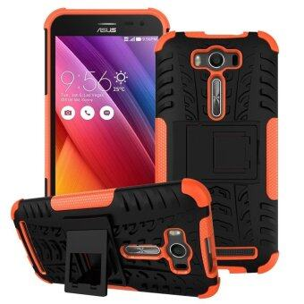 "Harga ZE500KL Case, Hard PC+TPU Shockproof Tough Dual Layer Cover Shell for ASUS Zenfone 2 Laser 5.0"", Orange - intl"