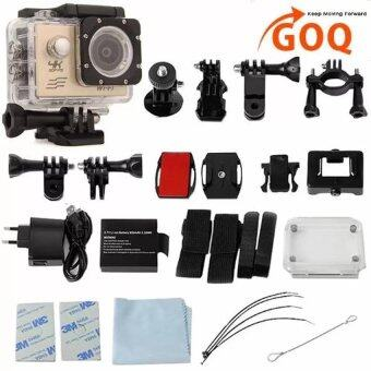 Harga GOQ V3 SJ9000 Wifi 4K 30fps Action Sports Camera Waterproof Camcorder with Accessories - intl