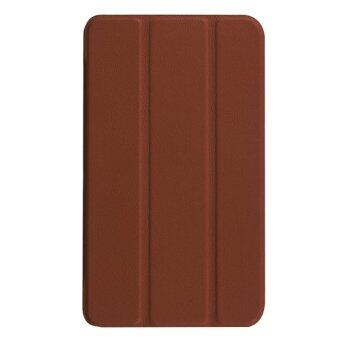 Harga SUNSKY PU Leather Custer Texture Cover for Samsung Galaxy Tab A 7.0 2016 T280N (Brown)