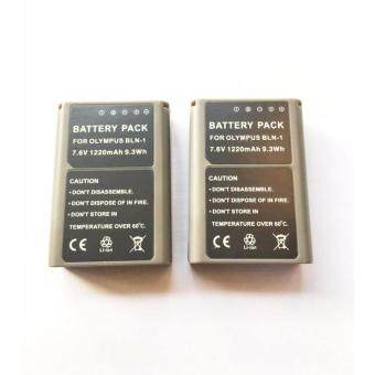 Harga (แพ๊คคู่) จำนวน 2 ก้อน For Olympus แบตเตอรี่กล้อง รุ่น BLN-1 / BLN1 Replacement Battery for Olympus