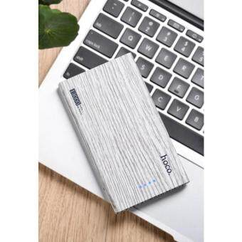 Harga Hoco B12B 13000mAh Wood Grain Power Bank แบตเตอรี่สำรอง(Fir wood)