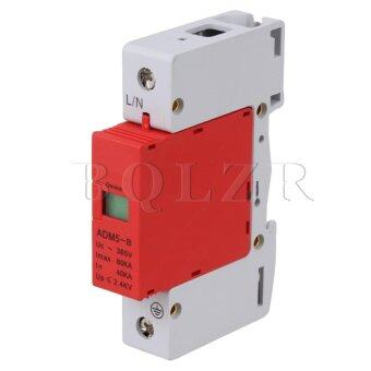 Harga Surge Protection Device 1P 40~80KA (White/Red)