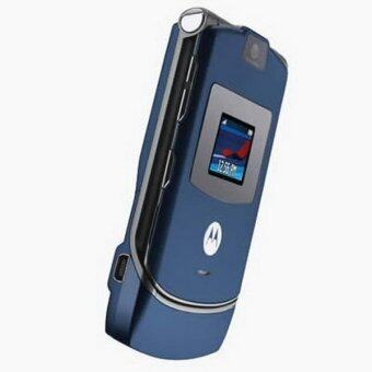 Harga (FACTORY REFURBISHED) Motorola V3 RAZR - Blue