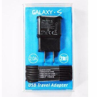 Harga Samsung หัวชาร์จและสาย Samsung Galaxy noet 3/S4/S5/S6 Micro USB Data Cable + Home Wall Charge