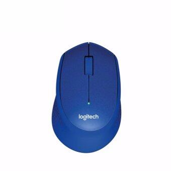Harga Silent Plus Wireless Mouse - Blue - intl