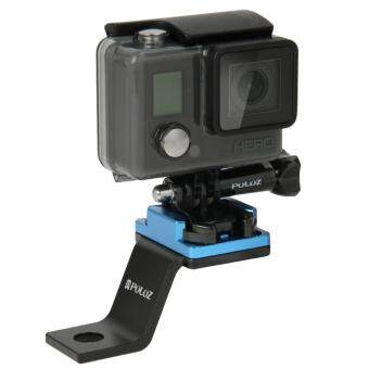 Harga SUNSKY Fixed Metal Bicycle Holder Mount for GoPro HERO4 Session /4 /3+ /3 /2 /1 (Blue)