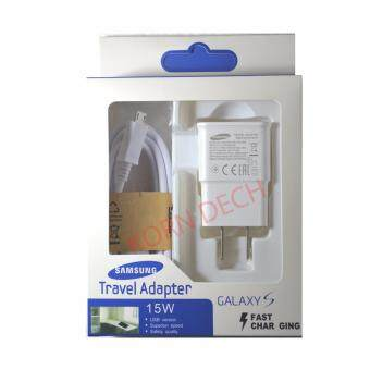 Harga Samsung ที่ชาร์จ+สาย Samsung Galaxy S4/S5/S6 Micro USB Data Cable + Home Wall Charger