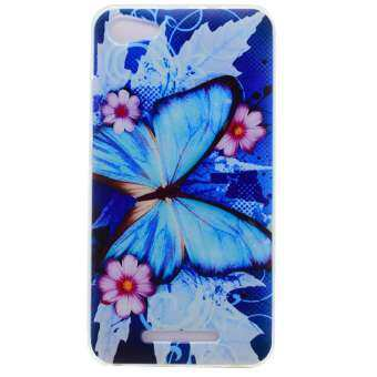 Harga Soft TPU Cover Case for Wiko Jerry (Butterfly) - intl