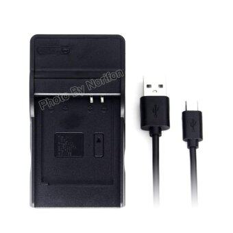 Harga DMW-BCM13 Ultra Slim USB Charger for Panasonic DMC-TZ55 DMC-TZ60 DMC-TZ61 Lumix DMC-FT5 DMC-TS5 DMC-TZ70 DMC-ZS40 DMC-ZS50 Camera and More - intl