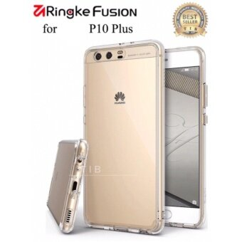 Harga tib Ringke Fusion for huawei P10 plus เคสใส่ ขอบนิ่มหลังแข็ง + TPU Edge MIL-STD Drop Protection Cases for HUAWEI P10 plus