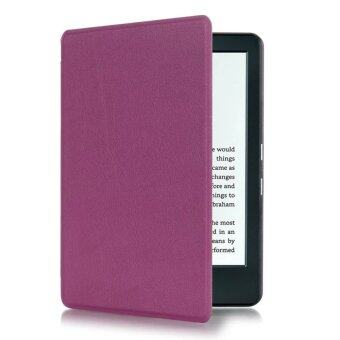Harga JinGle Thin PU Leather Case Cover for Amazon Kindle 8th 2016 (Purple)