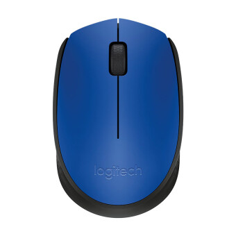 Harga Logitech Wireless Mouse M171 (Blue)
