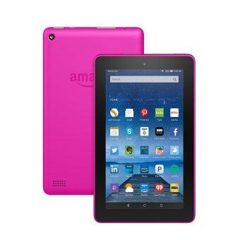 "Harga Amazon Fire Tablet, 7"" Display, Wi-Fi, 8 GB - Includes Special Offers, Magenta"