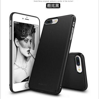 Harga iPhone 7 Plus RingKe slim Fashion ultra-thin scrub phone case/Scrub black - intl