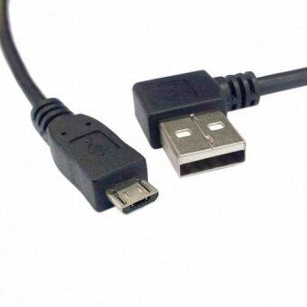 Harga CY Chenyang 0.5m USB 2.0 A Male Right Angled 90 Degree to USB Micro B 5Pin Male Phone Cable
