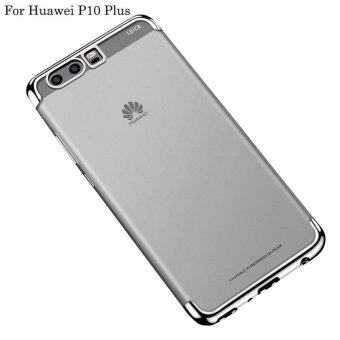 Harga For Huawei P10 Plus Clear Soft Tpu Phone Case Luxury Ultra Thin Plating Crystal Transparent Shockproof Phone Cover Silicone Case for Huawei P10 Plus /Huawei P 10Plus/HuaweiP10PLUS/huawei p10 plus/HUAWEI P10 PLUS/huaweip10plus /Hua Wei P10 Plus - intl